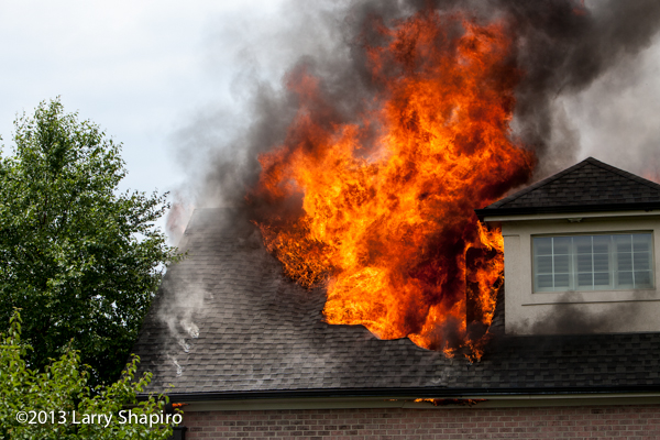 South Barrington house fire July 9, 2013