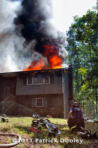 Tolland CT house fire