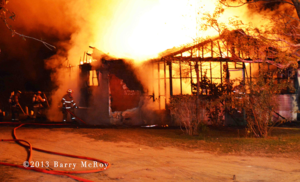 Colleton County Fire-Rescue battles house fire