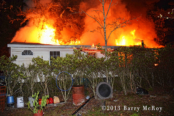 2-alarm house fire Colleton County Fire Rescue SC