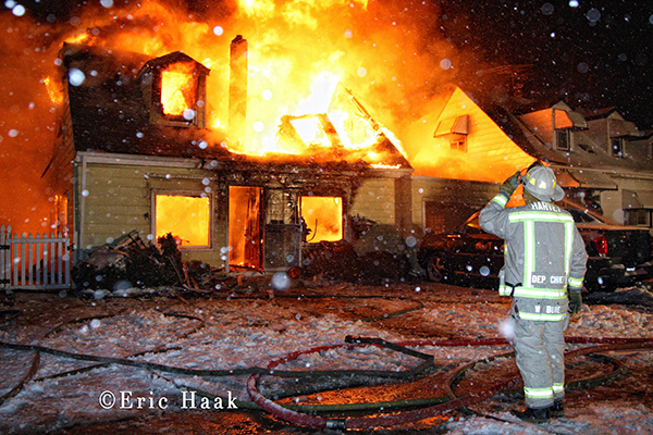 Harvey Fire Department fatal house fire