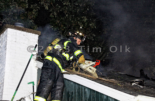 Libertyville Fire Dept Box Alarm house fire 10-12-13