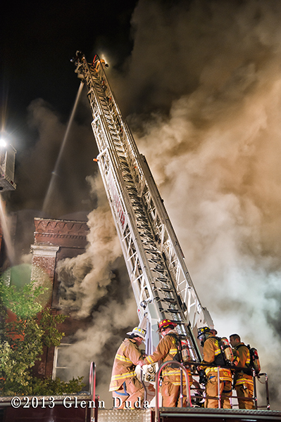 3-Alarm fire in Manchester CT 10-12-13