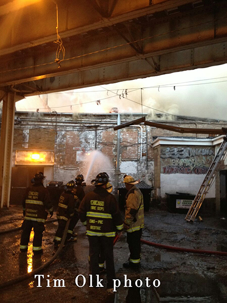 3-11 Alarm fire in Chicago on North Clark Street