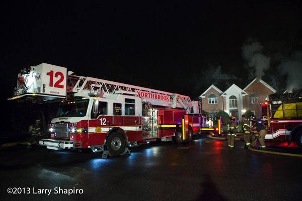 house fire in Prospect Heights IL 11-21-13