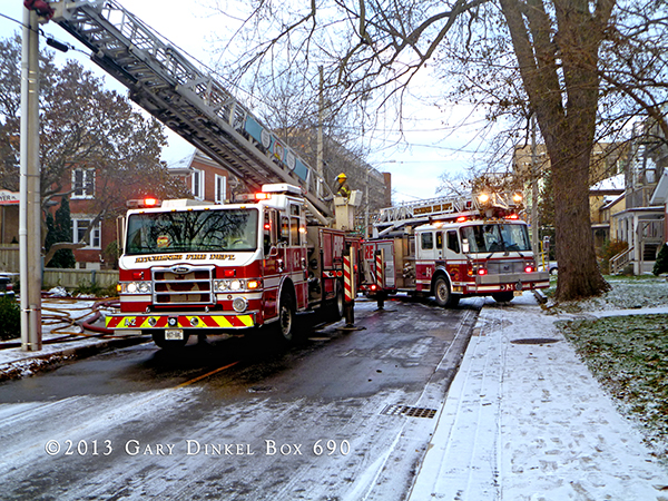 house fire in Kitchener Ontario Canada