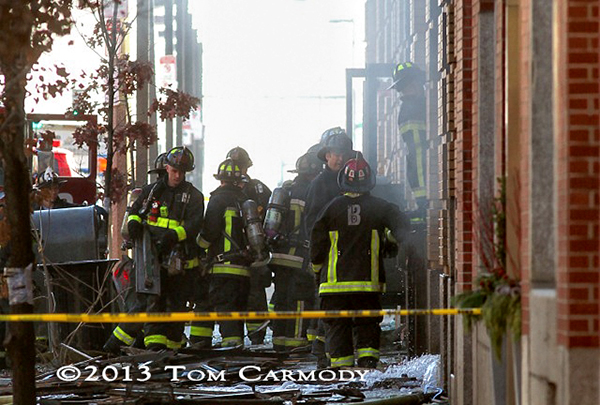 8-Alarm fire in Boston photos