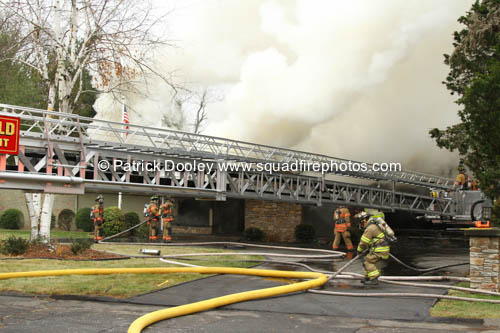 house fire photos from Wethersfield CT
