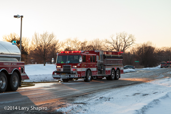 large home in Wadsworth IL destroyed by fire 1-23-14