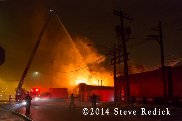 2-Alarm commercial fire in Berwyn 1-16-14
