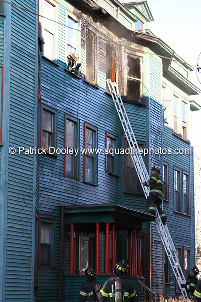 Hartford CT firefighters battle house fire