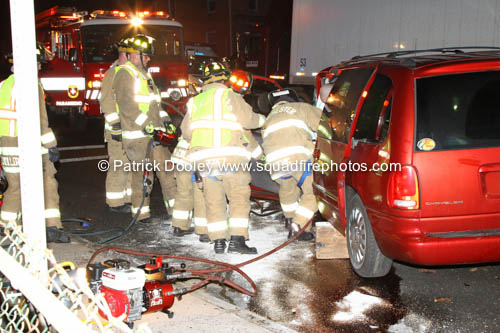 crash with extrication in Manchester CT