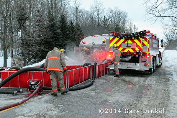 fire department rural water supply operation