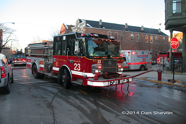 Chicago FD Spartan fire engine