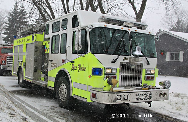 Fox Lake Fire Department tender
