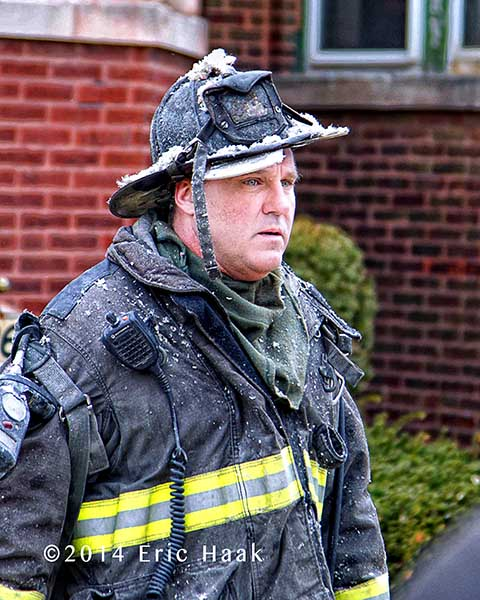 dirty fireman after fire