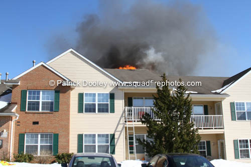 apartment building fire in Manchester CT