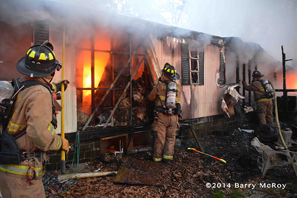 hoarder conditions in mobile home fire