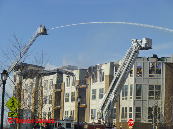 Shady Grove apartment complex fire