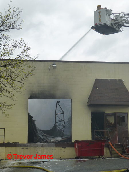 building demolished by fire