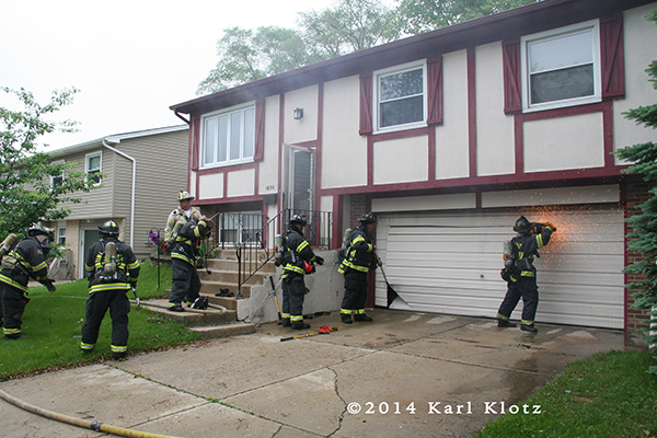 Working Fire In Tinley Park Il June 4 2014