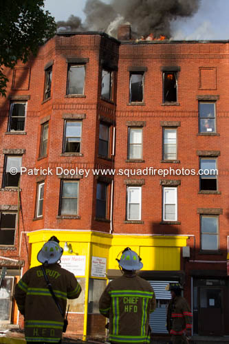 apartment building fire in Holyoke MA