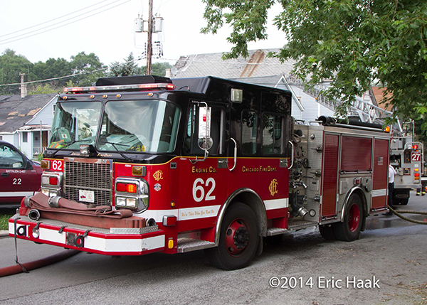 Chicago FD ENGINE 62