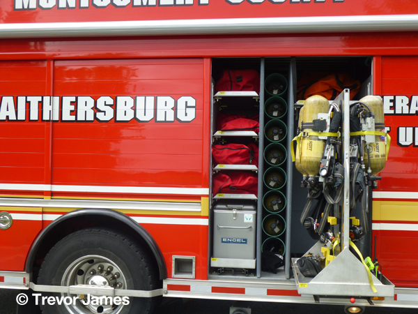 Montgomery County Fire & Rescue haz mat unit