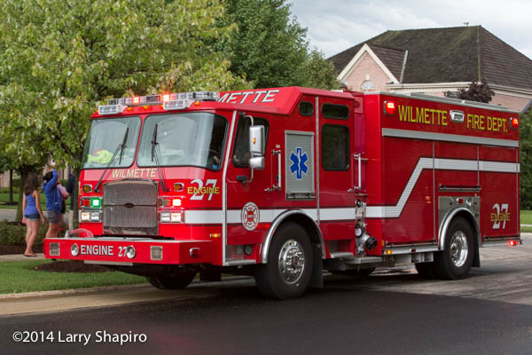 Wilmette FD Engine 27 E-ONE eMax