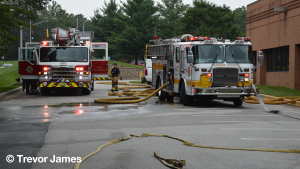 Anne Arundel County FD fire engines