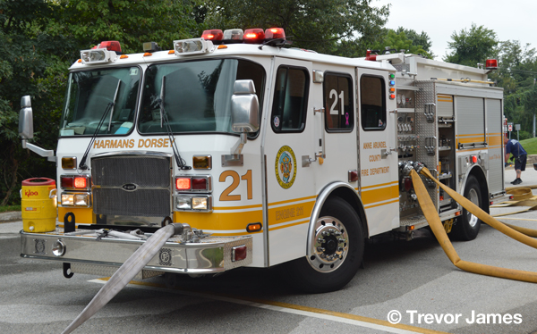 Anne Arundel County FD E-ONE fire engine