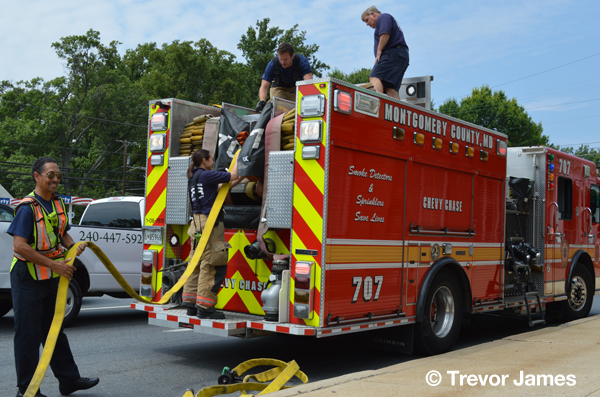 Montgomery County fire engine