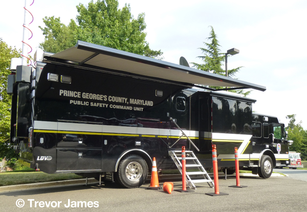 Prince George's County mobile command post