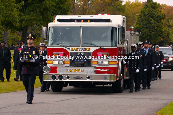 Firefighter LODD funeral