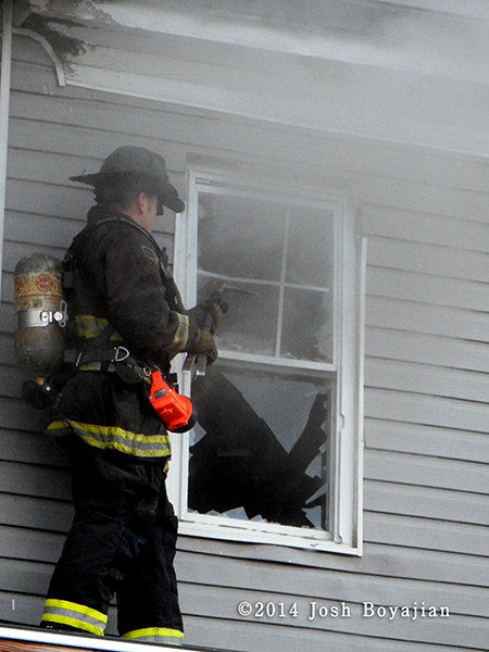 fireman venting house window