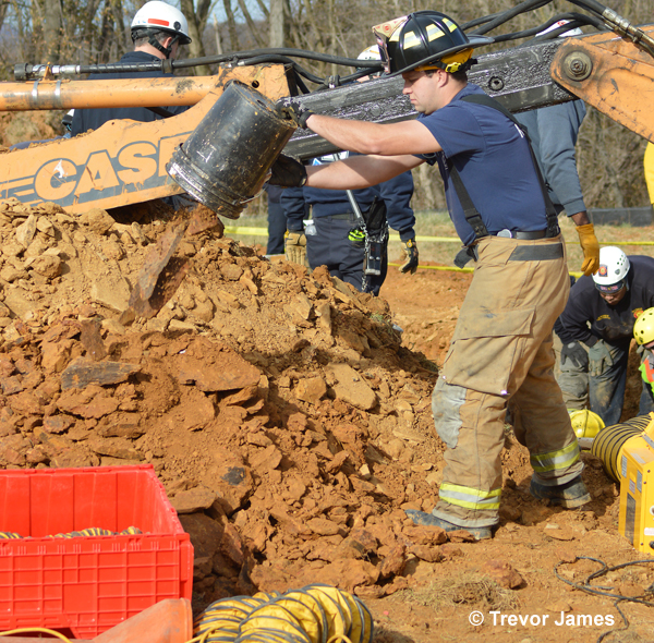 Trench Rescue, Frederick County, MD