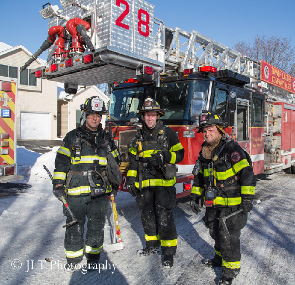 Carol Stream firefighters