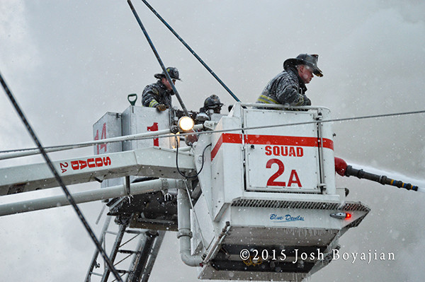 Chicago FD Squad 2 AND TOWER LADDER