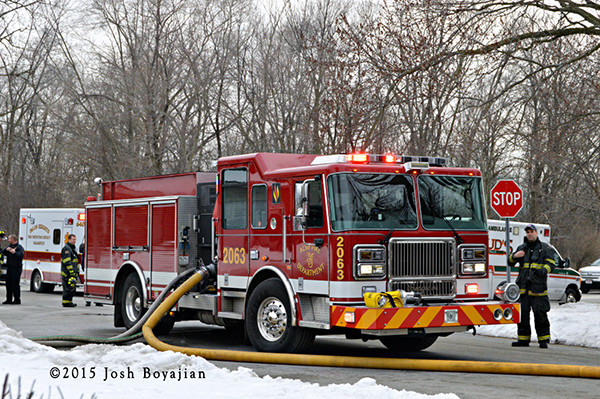 Alsip FD Seagrave fire engine