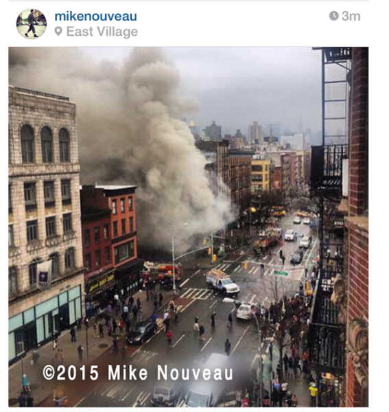 7-alarm fire in Manhattan