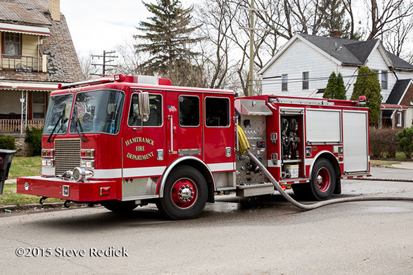 Hamtramck fire engine