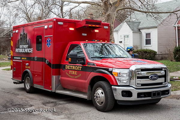 Detroit Fire Department ambulance