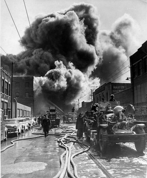 historic deadly fire in Chicago