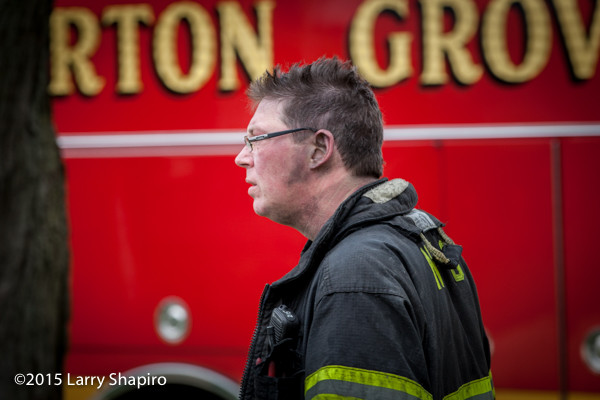 Fireman after battling a fire ©2015 Larry Shapiro
