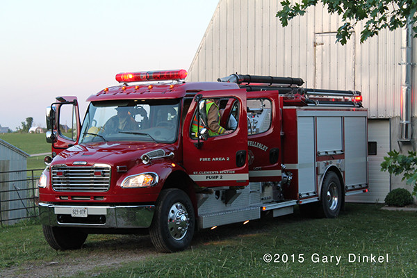 Wellesley Township Freightliner fire truck
