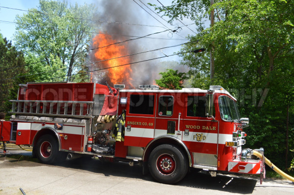 Wood Dale FPD burns vacant house