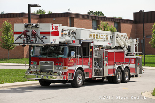 Wheaton Fire Department fire truck