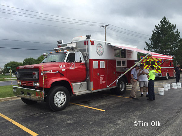 canteen service for firefighter rehab