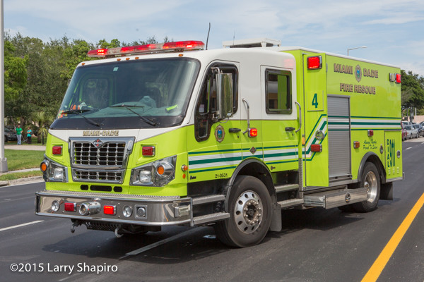 Spartan Furion Braun rescue unit in Miami-Dade