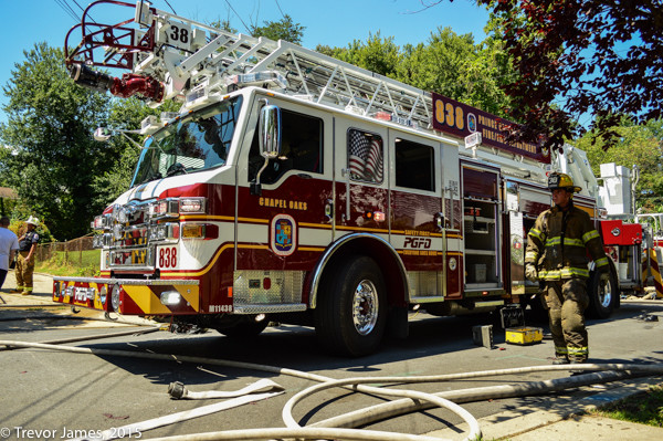 Prince Georges County FD ladder truck